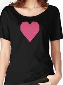 Dark Pink  Women's Relaxed Fit T-Shirt