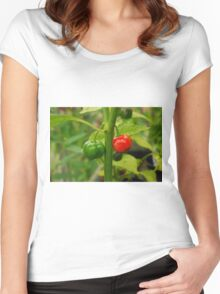Hot, Hot, Hot! Women's Fitted Scoop T-Shirt