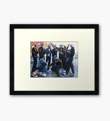 Cold Lampin' Framed Print