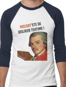 Mozart TeaTime Men's Baseball ¾ T-Shirt