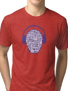 I love music Tri-blend T-Shirt