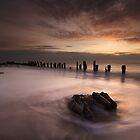 Dawn At Spurn point by SteveMG