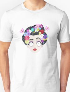 Flower Geisha Unisex T-Shirt