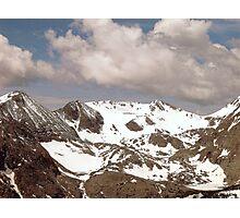Above the Tree-Line, RMN Park Colorado U.S.A. Photographic Print