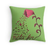 What's a meta for? Throw Pillow