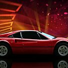 "1979 Ferrari 308 GTB ""Catch Me If You Can"" #2 by TeeMack"