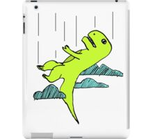 Falling T-Rex iPad Case/Skin