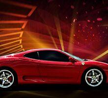 "2004 Ferrari 360 Modena ""Catch Me If You Can"" #3 by TeeMack"