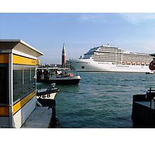 Points of view in Venice Photographic Print