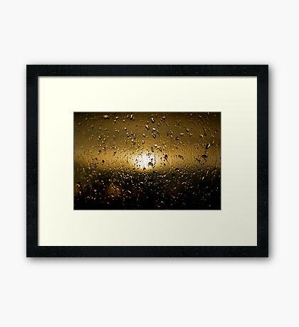 Rainy Day #12 Framed Print