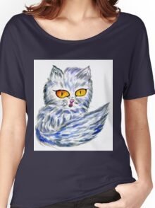Persian Cat Women's Relaxed Fit T-Shirt