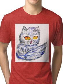Persian Cat Tri-blend T-Shirt