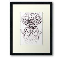 the divine feminine Framed Print