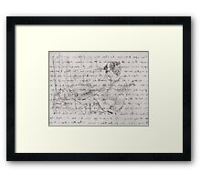 Changes in Communication Framed Print