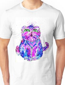 Painted Cat Unisex T-Shirt