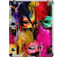 VENITIAN MASKS iPad Case/Skin