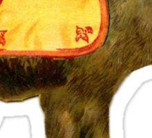 Circus Bear Sticker