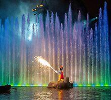 Fantasmic! Mickey by disinspirations