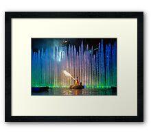Fantasmic! Mickey Framed Print