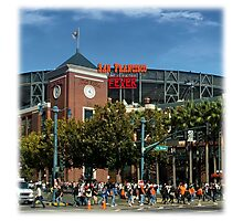San Francisco Home of Baseball Fever Photographic Print