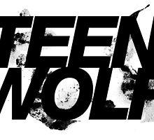 Teen Wolf logo by teeveemee