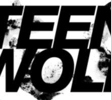 Teen Wolf logo Sticker
