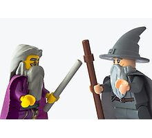 There's only one way to settle this... Wizard off Photographic Print