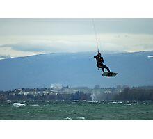 flying man Photographic Print