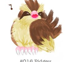 #016 Pidgey by mspaintpokemon