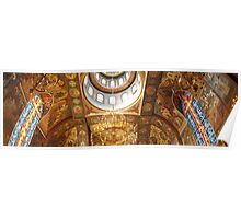 Ceiling Detail ~ Russian Orthodox Church Poster