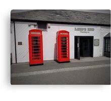 Phonebox Canvas Print