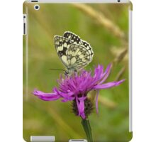 Marbled White Butterfly iPad Case/Skin