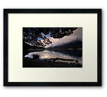 Mavora Lakes, Sunset Framed Print