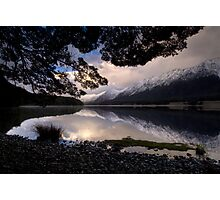 Mavora Lakes, Sunset Photographic Print