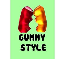 Gummy style Photographic Print