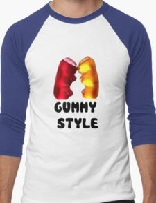 Gummy style Men's Baseball ¾ T-Shirt