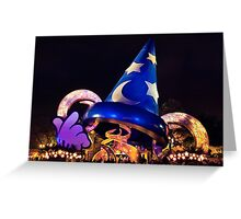 Magic Hat Greeting Card