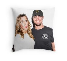 Stephen & Katie Throw Pillow