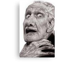 Portrait of Vincent Price Canvas Print