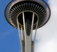Space Needle On A Summer Day by Stephanie Exendine