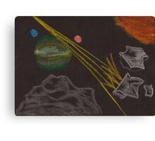 Asteroid Mining Canvas Print