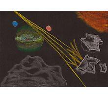 Asteroid Mining Photographic Print