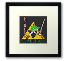Hyrule Calling! Framed Print