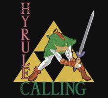 Hyrule Calling! Kids Tee