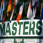 The Masters Leader-board by Bonnie Blanton