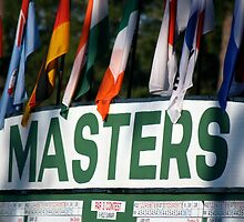The Masters Leader-board by Bonnie Blanton