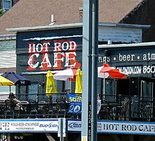 Hot Rod Cafe on Bank Street - New London by Jack McCabe