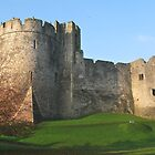 Chepstow Castle by Graham Ettridge