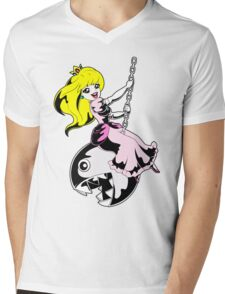 Like a Chain Chomp Mens V-Neck T-Shirt