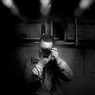 IR self-portrait #1 by sjames
